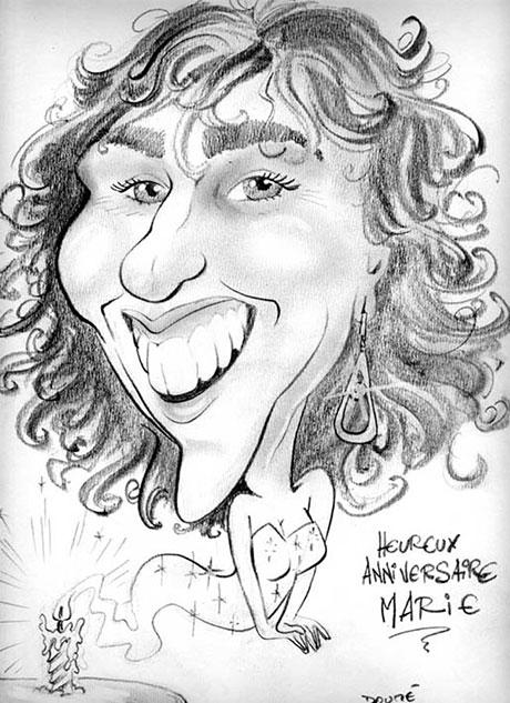 Creason Paris - Caricaturiste Doume
